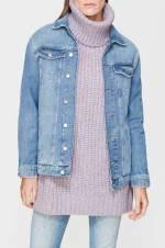 Kadın Jean Ceket Jill Mavi Vintage 110081-27898